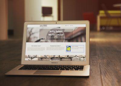 Création site internet Jacky Hebert Maître Artisan
