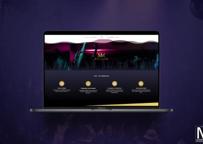 Site web d'une discothèque en normandie