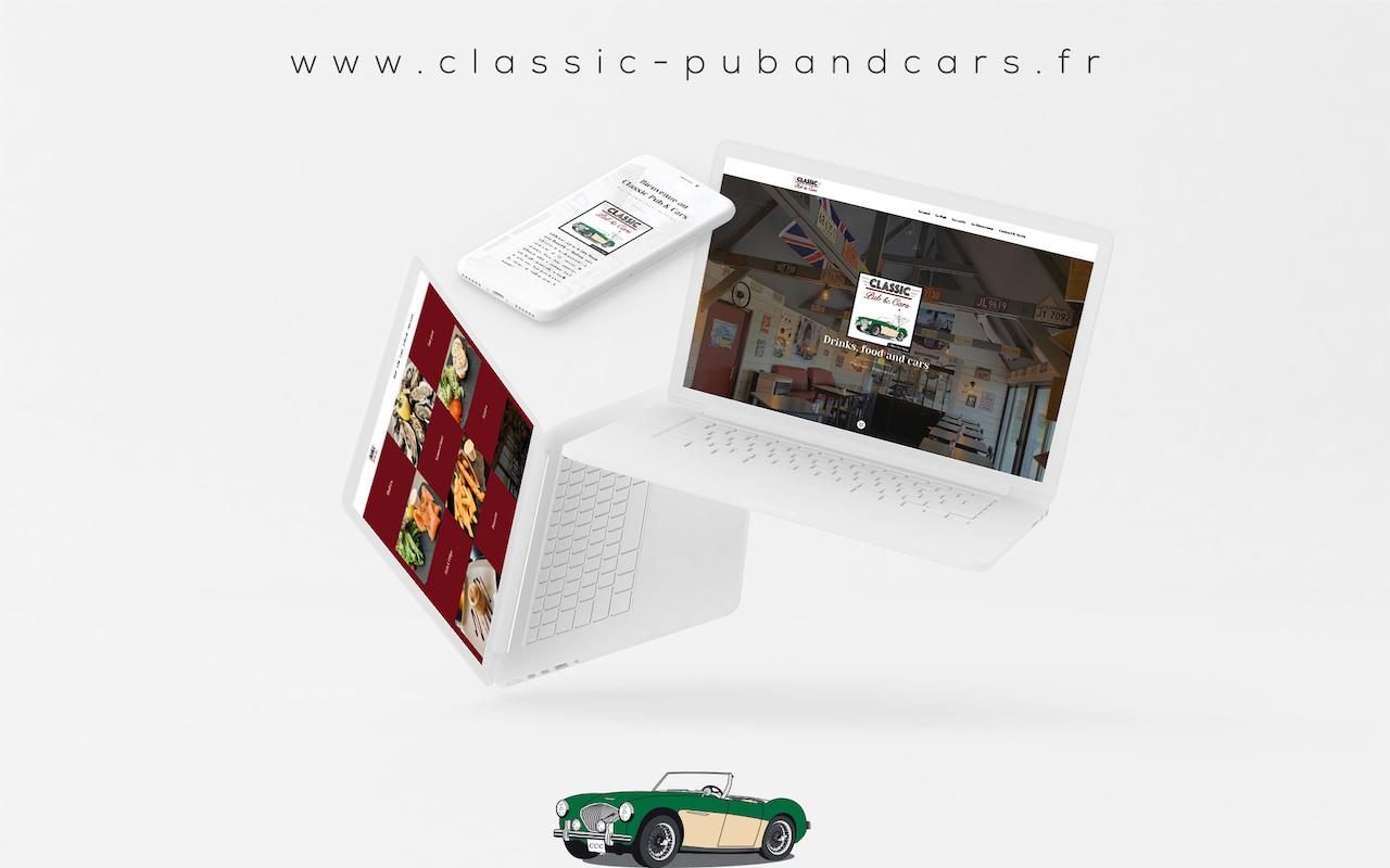 Création site internet Classic Cars Company