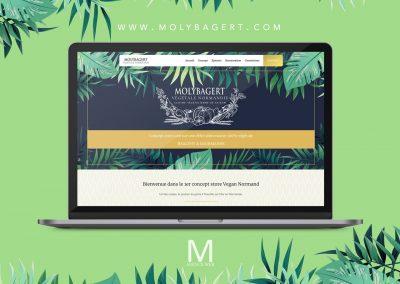 Création site web pour un concept store vegan à Trouville-sur-Mer