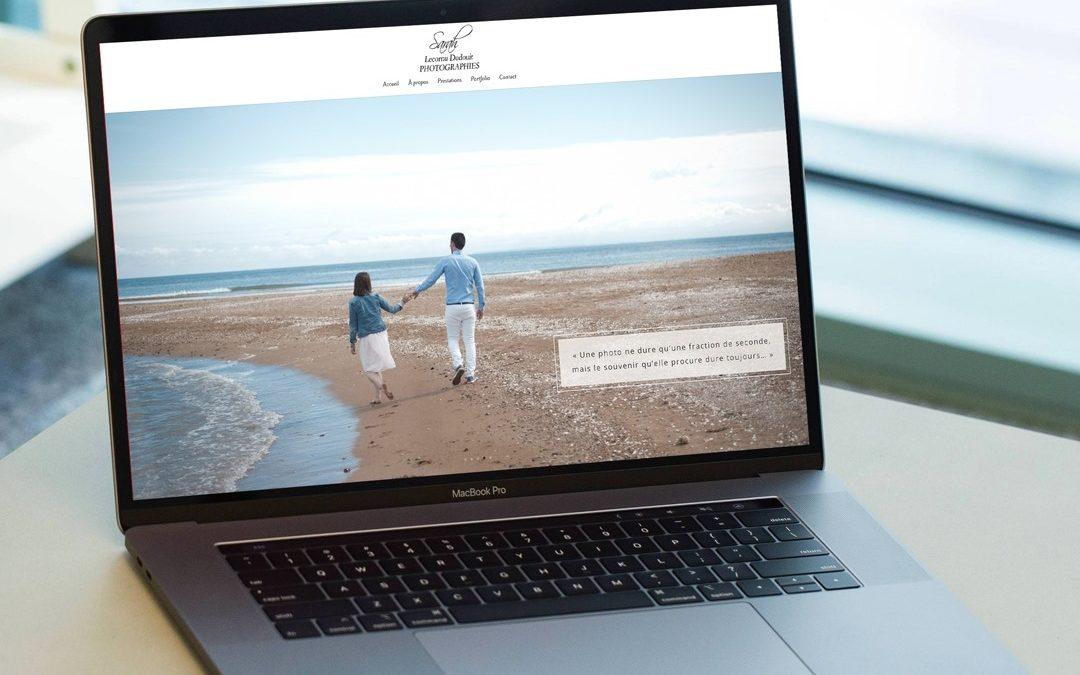 Création site web photographe en normandie